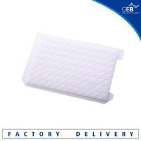 """+"" Hole, square well,natural laboratory consumables disposables sealing mat for 96 well deep well plates"