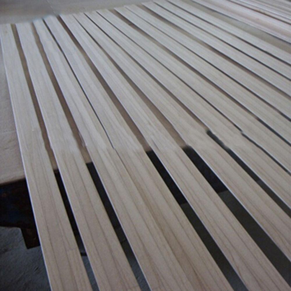 Wooden fence slats and strengthen bed frame
