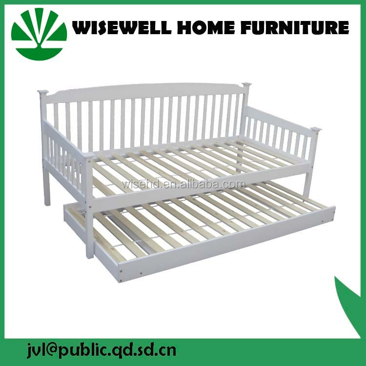 Simple Designs Modern Solid Wood Bed Room Furniture Solid Wood Double Bed Designs W-B-0092
