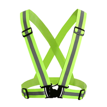 Adjustable Night <strong>Safety</strong> Running High Visibility Light LED Reflective Vest