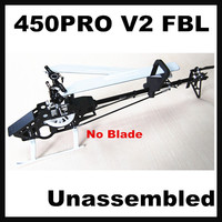 Mystery Align 450Pro V2 flybarless 450PRO FBL 3D RC Helicopter KIT Unassembled