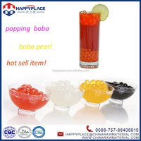 round popping boba, popping boba fruit juice in popping balls, possmei bubble tea