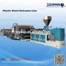 Plastic Sheet Extrusion Unit Plastic Plate Board Extruding Machine