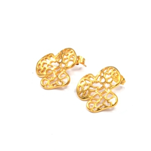 Fashion Jewelry Gold Ear Tops Designs Stainless Steel Earring For Women