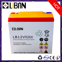 12V 26Ah Deep Cycle Lead Acid Battery Prices