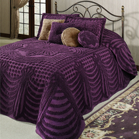 new design best quality soft bedspreads