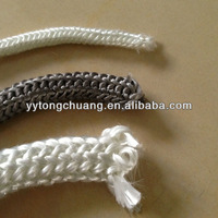 thermal insulation sealing gasket knitted rope/fiberglass knitted rope