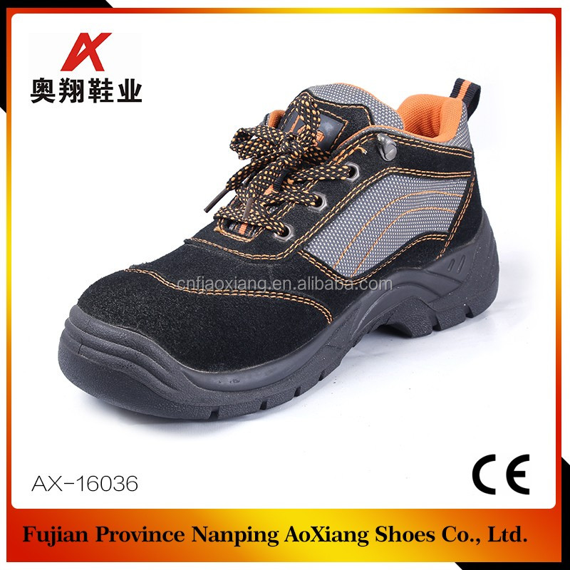 2016 new style brand steel toe safety shoes