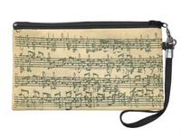 Printing Music Cosmetic Case