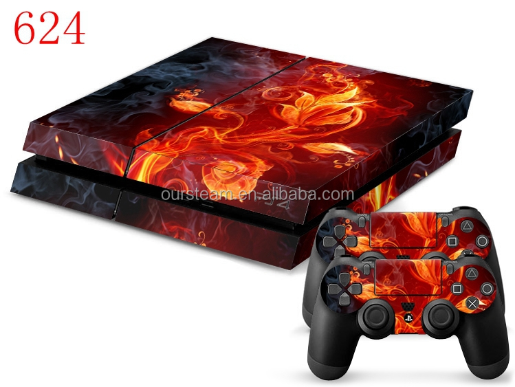 Decor sticker for ps4 vinyl skin decal sticker mixed pattern