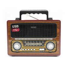 Portátil de madera clásico retro AM/FM/SW 3 banda BT Wireless radio <span class=keywords><strong>MD</strong></span>-1800BT con USB/sd/ <span class=keywords><strong>tarjeta</strong></span> del TF