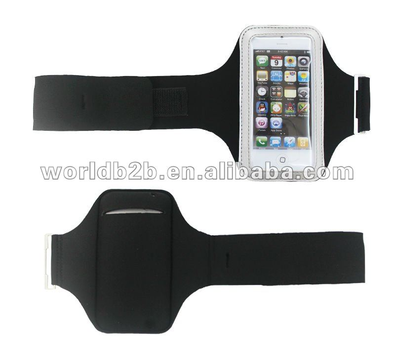 Sports Armband Sleeve case for iPod Touch 5/iPhone 5