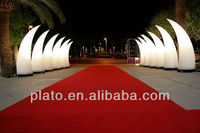 wedding arch LED inflatable ivory for wedding decoration