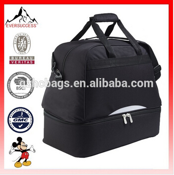 Factory Price Latest Design Duffel Bag Team Bag for Football Teams with Shoes and Ball Compartment