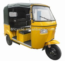 2014 HOT SALE REAR ENGINE BAJAJ 3 WHEELR CNG