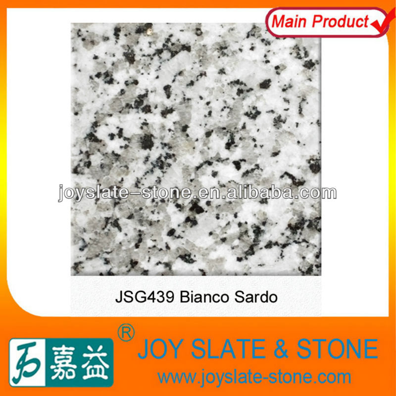 Beautiful natural decorative white granite stone slab
