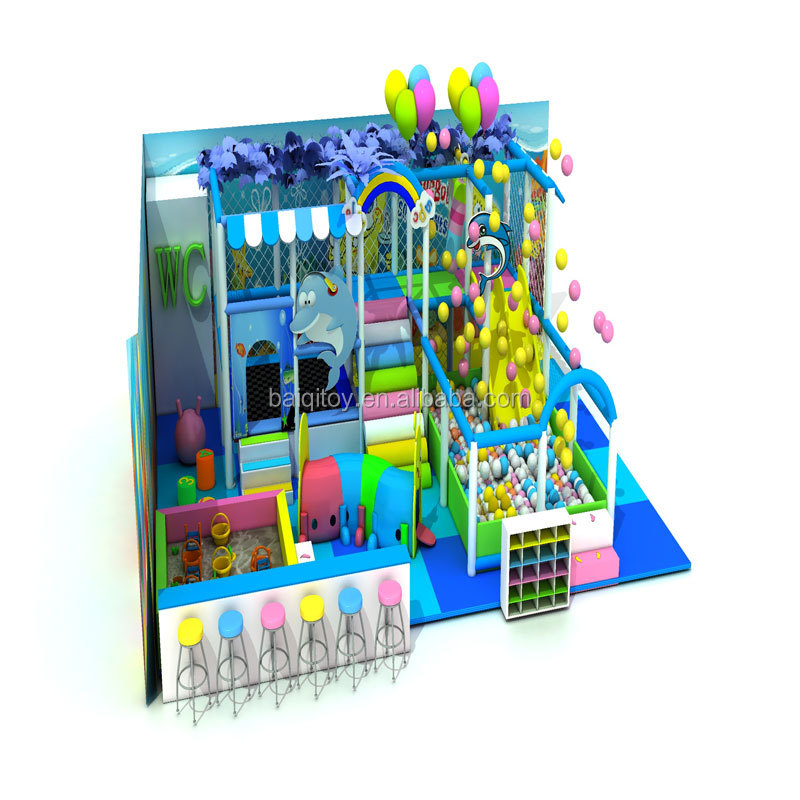 CE verified popular in South America kids indoor soft playground equipment for sale
