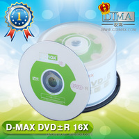 wholesale raw material cheap blank dvd-r/+r made in china