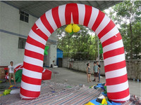 2014 best popular Christmas decoration inflatable circle arch