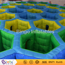 Outdoor honeycomb type 26ft Giant Inflatable Maze For Sale