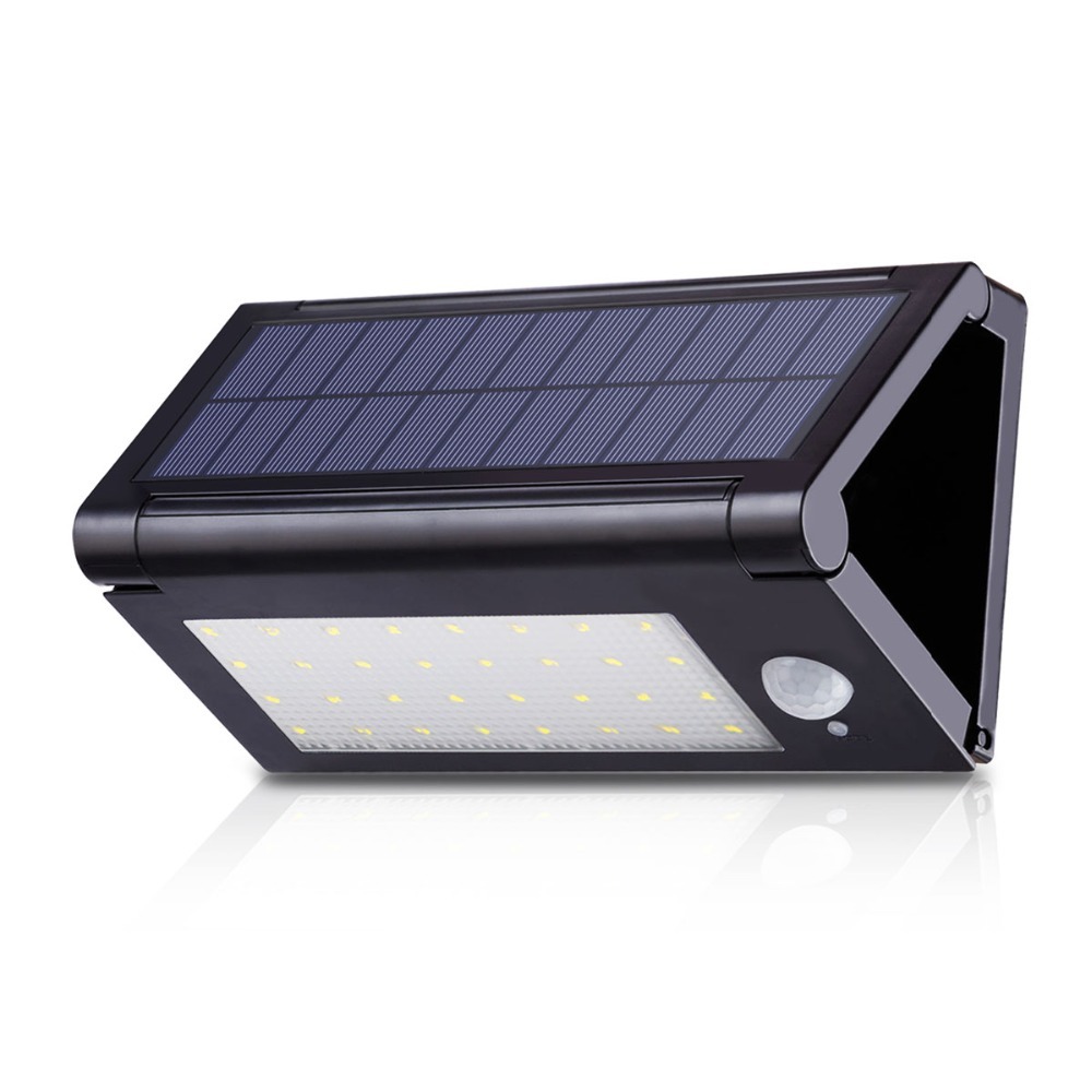 Battery-operated Led Reading Lamp Solar Led Motion Sensor Wall Lamp