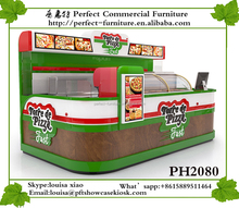 New Professional Design Kiosk Fast Food For Sale