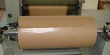 Low price high quality brown kraft pe coated paper roll