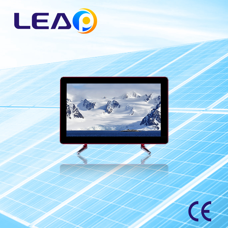 19 Screen size LED display solar powered led tv 12V solar television