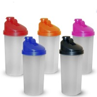 2016 Intrusive Cup Protein Shaker Sports Water Bottle With Mixing Ball 3 Color Options