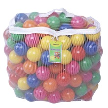 6cm 2.5inch Phthalate Free BPA Free Crush Proof Plastic Ball Bright Colors Pit Balls