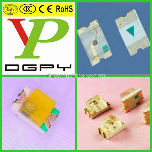 SMD flashing LED 0805 Red/Green/Blue/White/Warm White/Yellow/Orange ( CE & RoHS Compliant )