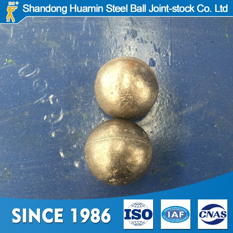 wear-resisting forged steel ball grinding media with high surface hardness