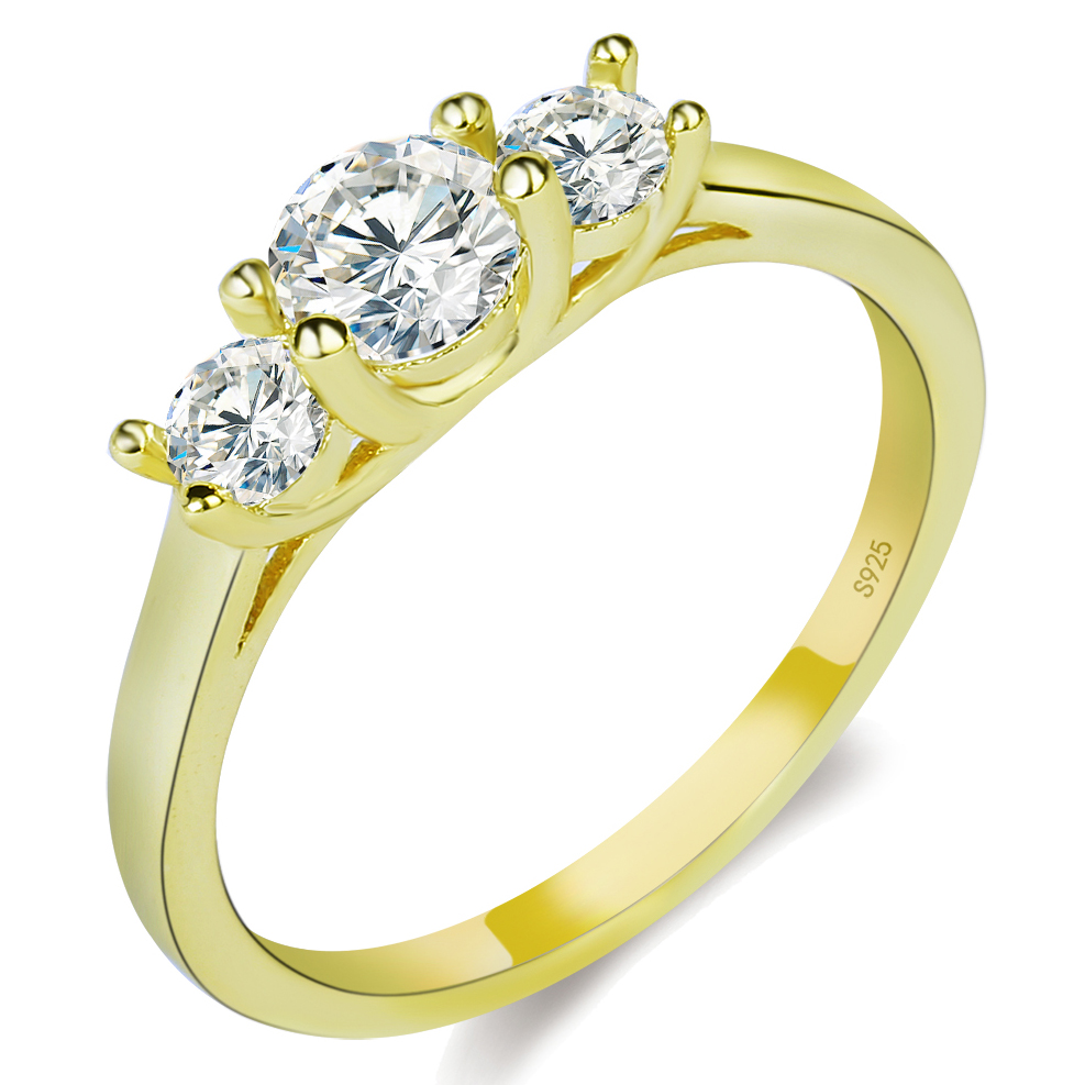 Latest design 24k gold plated wedding <strong>rings</strong> for women
