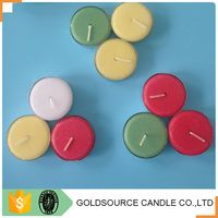 Round shaped candle, Wedding Favor tealight candle