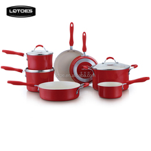 2018 Lotoe's Kitchen Aluminum Cookware 10 pieces List CD Boating Cookware Set