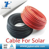 Australia Standard 100M/Plastic Drum TUV Approved Solar PV Cable 2x6mm for power station