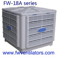 7.5KW centrifugal fan water to air cooler