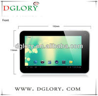 DG-TP7014 7 inch Allwinner A20 dual core 512MB/4GB various colors tablet pc