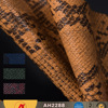 Snake Skin Pattern PVC Embossed Synthetic