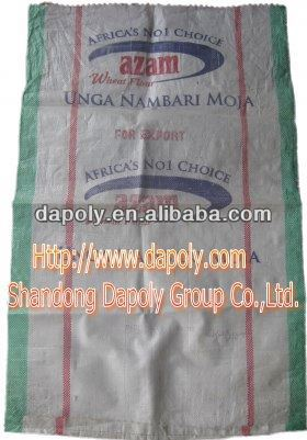 best package Shandong Qingdao plastic packing manufacturer fertilizer green bag