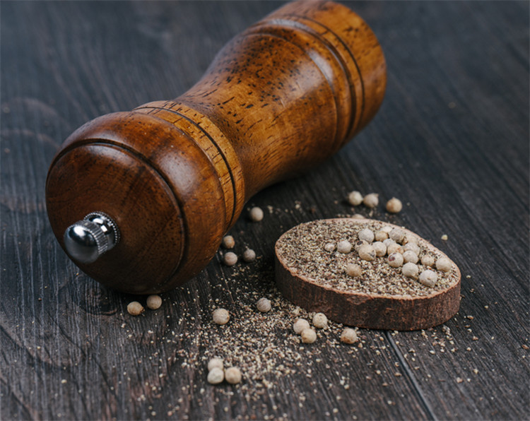 Kitchen tools wood Manual salt pepper grinder salt pepper mill Flavoring Bottle