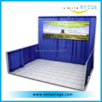 Cheaper outdoor used pipe and drape for sale for photo booth with standard black velvet curtains