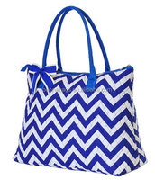Wholesale Quilted Extra Large Chevron Print Tote Bag Diaper Bags