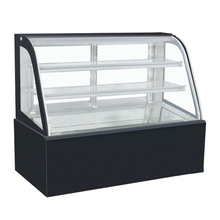 commercial cold showcase display refrigerators/cooling cake showcase glass display cake refrigerator cabinet
