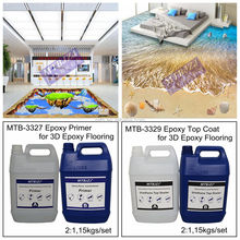 Epoxy Resin 3D Floor Paint