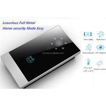 OEM Touch Screen IP Video Door Phone Smart WiFi Doorbell Video IP Intercom With Motion Detection Supported App for Android & IOS