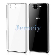 CRYSTAL CLEAR CASE FOR WIKO HIGHWAY 3G 4G, TRANSPARENT HARD PC PLASTIC COVER CASE BACK SHELL