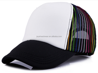 Jeya OEM Custom Many Colors 5 Panel Plain Foam Mesh Caps/Blank Trucker Hats
