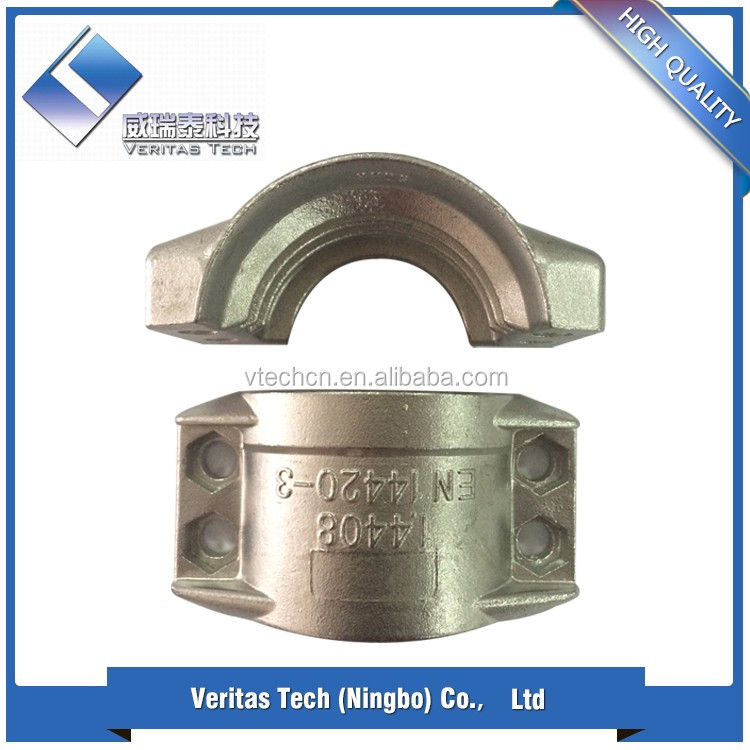 High Pressure Customizing die casting aluminum or cast iron pipe clamp price Made in China