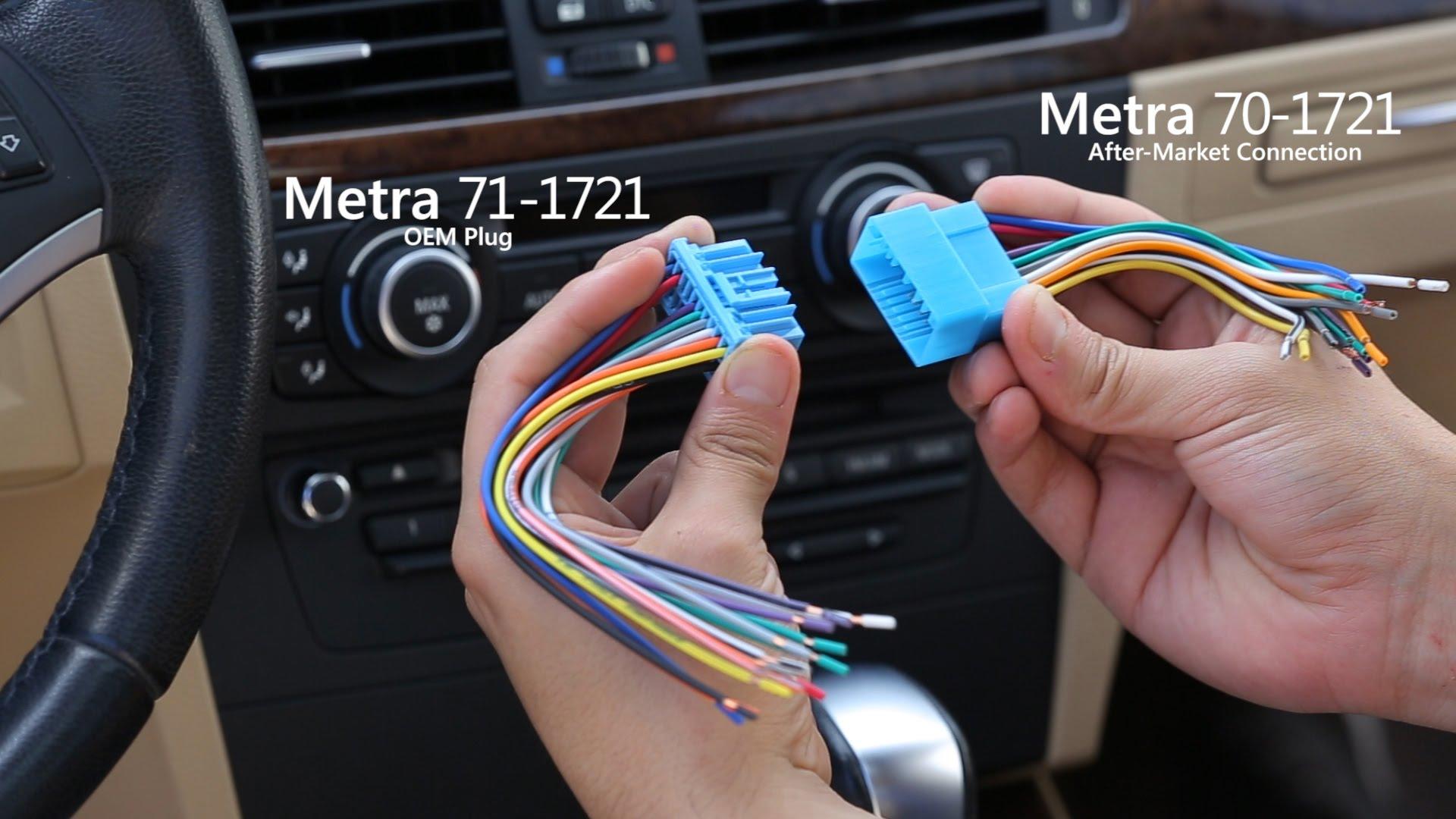 Metra 70-1721 Wiring Harness For Acura Honda Vehicles